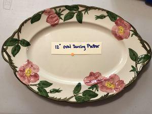 """(1) 12"""" Oval Serving Platter (Desert Rose) for Sale in Garden Grove, CA"""