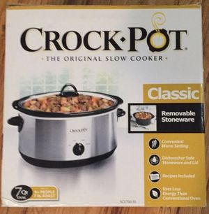 Crock-Pot The Original Slow Cooker for Sale in Bardonia, NY