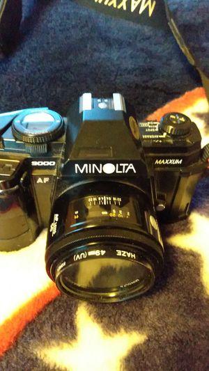Minolta 9000 Maxxum for Sale in Oak Ridge, NC