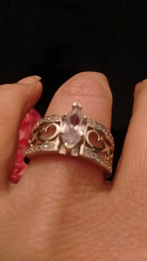 Beautiful sterling silver with Marquis size 8 New for Sale in North Las Vegas, NV