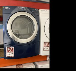Whirlpool Duet Navy Blue electric dryer #944 for Sale in South Farmingdale, NY