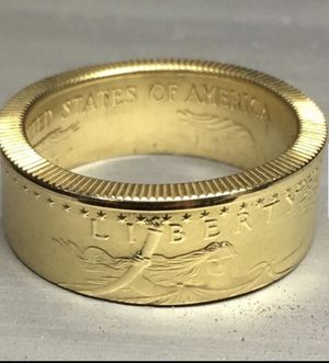 Gold Eagle coin ring, 1/10 oz gold. for Sale for sale  Kenner, LA
