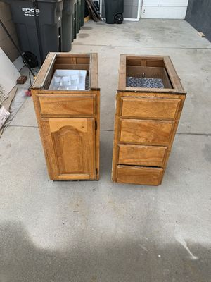Two kitchen cabinets. Already gave the rest away and this is what's left for Sale in Buena Park, CA