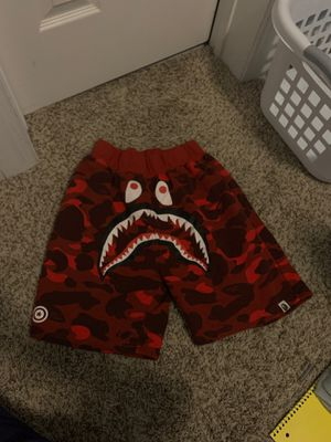 Bape shorts men's medium for Sale in Virginia Beach, VA