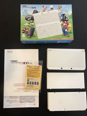 White Nintendo 3ds Mario edition for Sale in Los Angeles, CA