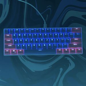 RK61 60% mechanical gaming keyboard blue switches joker keycaps for Sale in Salisbury, NC