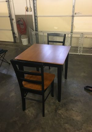 Kitchen table and 2 chairs for Sale in Gallipolis, OH