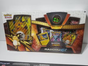 Pokemon Shining Legends Collection Raichu GX Box for Sale in San Diego, CA
