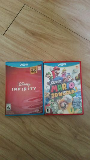 Wii u games for Sale in West Palm Beach, FL