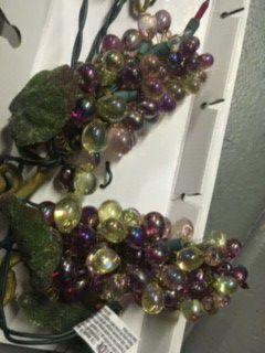 Grape Lights / Wine Bar Decor for Sale in San Marcos, CA