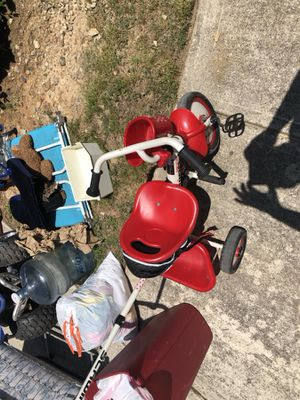 Kids bike and a pusher for Sale in Atlanta, GA