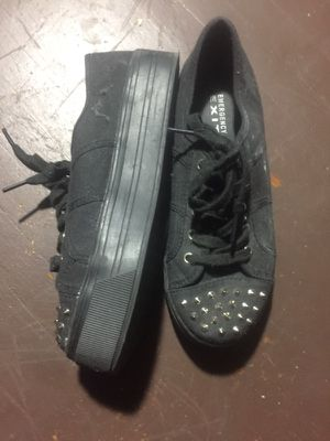 small platform black shoes for Sale in Columbus, OH