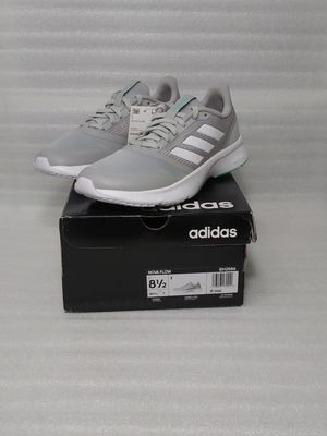 Adidas sneakers. Size 8.5 women's shoe. Grey. Brand new in box for Sale in Portsmouth, VA
