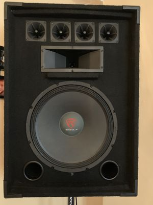 Rockville 15in pro audio sound system for Sale in Jersey City, NJ