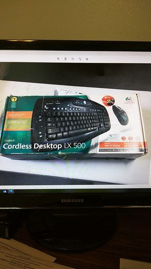 Logitech wireless keyboard and mouse for Sale in Fort Lauderdale, FL