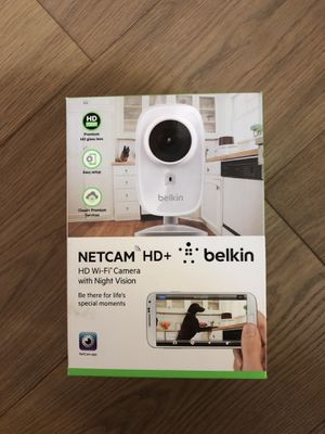 Belkin Netcam HD+ Wifi camera with night vision for Sale in Los Altos, CA