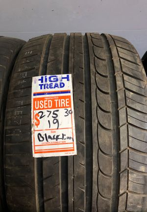 275/30/19 blacklion tire for Sale in Los Angeles, CA