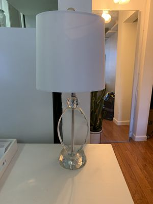 Crystal based table lamp for Sale in New York, NY