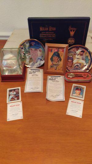 Nolan Ryan Collection for Sale in Hillsboro, OR