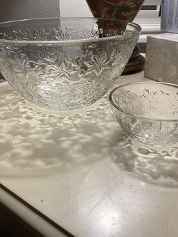Princess House Crystal Salad Set for Sale in Bothell,  WA