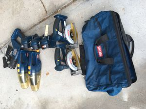 Ryobi cordless tools and bags for Sale in Payson, AZ