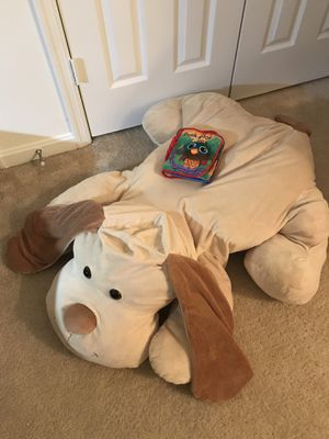 Giant stuffed animal plush dog for Sale in Darnestown, MD