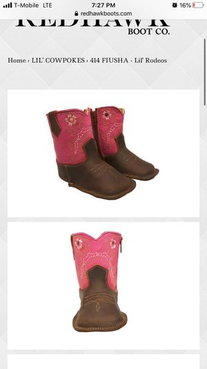 Red Hawk Infant CowGirl Boots for Sale in Hacienda Heights, CA