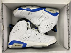 "🌟Air Jordan Retro 6 ""Sport Blue"" SZ 9.5🌟 for Sale in Randolph, MA"
