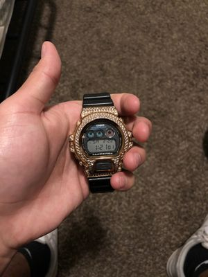 G shock Casio watch iced out for Sale in Pendleton, OR
