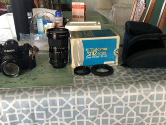 Canon A-1 Vintage With All Lens for Sale in Kissimmee,  FL