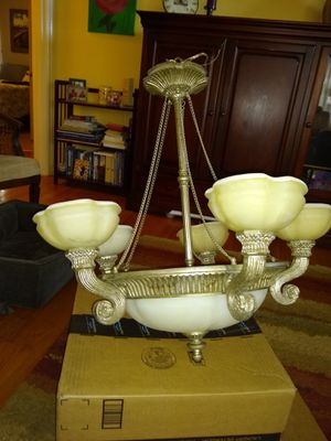1920s style pendant light fixture for Sale in Portland, OR