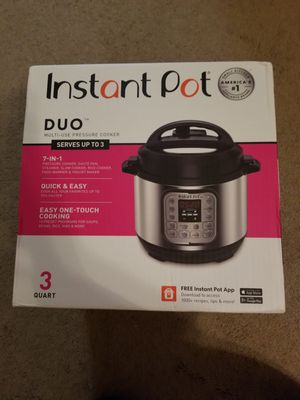 Instant Pot DUO 3 Quart for Sale in Phoenix, AZ