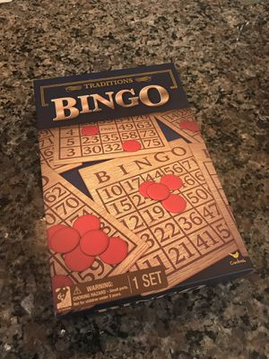 Classic bingo board game for Sale in Stoneham, MA