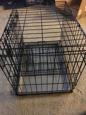 Comfortable dog crate for small dogs for Sale in Alexandria, VA