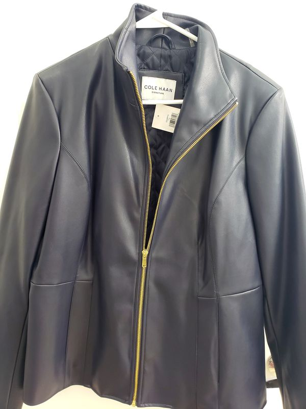 Cole Haan Women's Leather Jacket