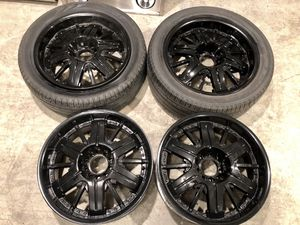 Beautiful 20 Inch Gloss Black Rims! for Sale in Renton, WA