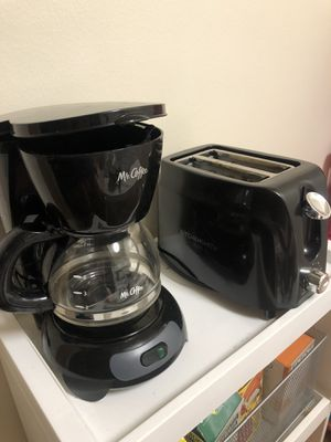 coffee maker and toaster combo for Sale in Washington, DC