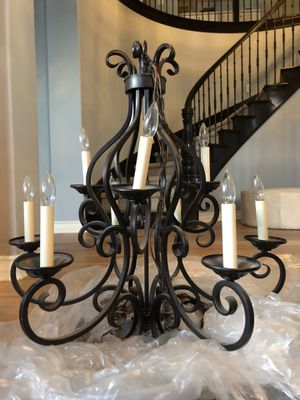 chandelier + bulbs, working in great condition. for Sale in Carlsbad, CA