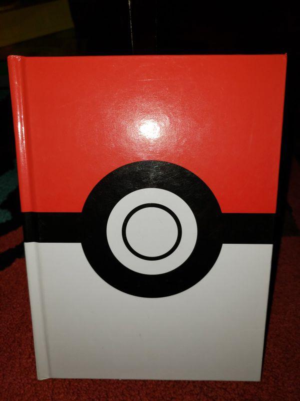 Pokemon Hardcover Journal