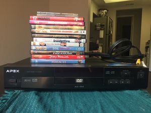 Classic DVD player and movies! for Sale in Riverside, CA
