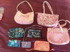 Vera Bradley pocketbooks, wallets for Sale in Rustburg, VA
