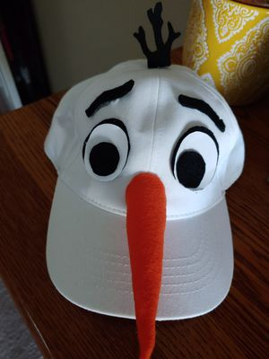 Olaf homemade hat for Sale in Orange, CA