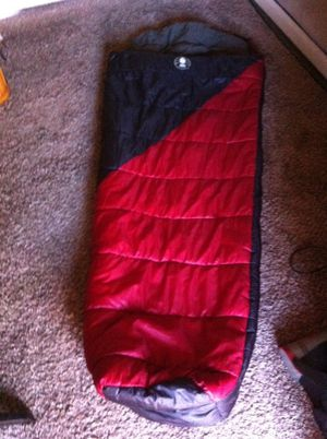 """Coleman adult mummy sleeping bag 32x82"""" for Sale in Modesto, CA"""