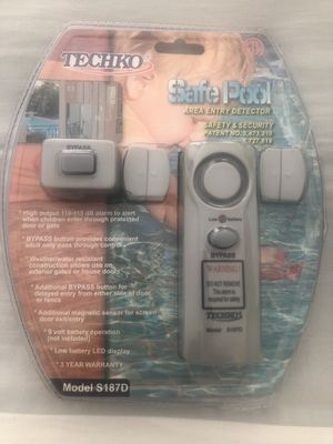 Alarms /Safety Detector for Door, Window, Gate etc Alarm set. for Sale in San Diego, CA