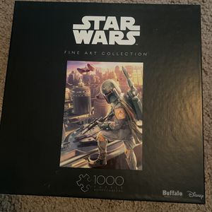 Star Wars Puzzle Boba Fett And Yoda for Sale in Glendale, AZ