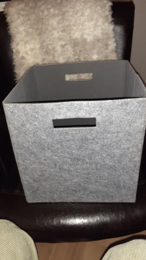 Collapsible Gray Flannel Crate for Sale in Washington, DC