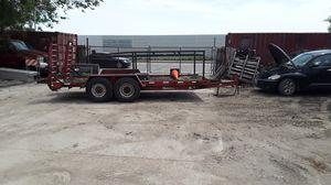 Winston 16 foot bobcat trailer for Sale in Chicago, IL