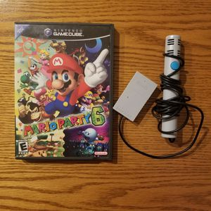 Mario Party 6 With Microphone For Nintendo Gamecube for Sale in Brooklyn, NY