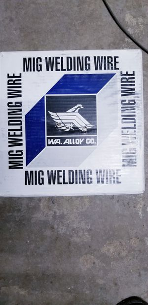 33 pounds big roll Mig welder welding wire 0.30 c25 er 70s-6 for Sale in Hesperia, CA