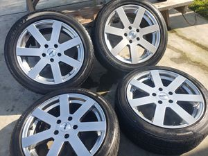 "TSW 17×8"" ET40 5LUG 5×114 RIMS WITH TIRES for Sale in Ontario, CA"